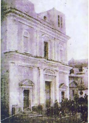 La nostra chiesa all'epoca