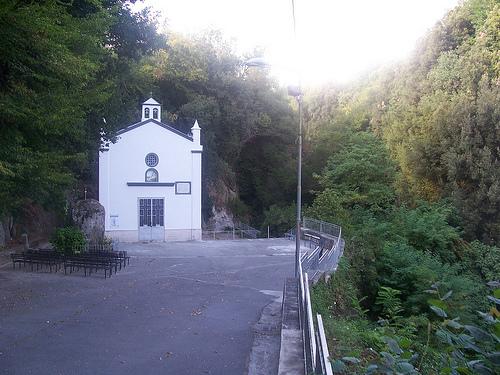 Una bella foto dello stato attuale del Santuario