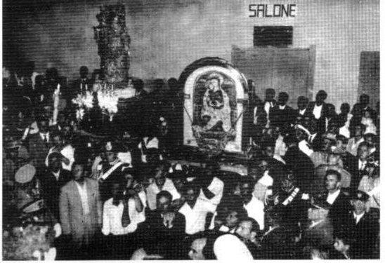 Processione successiva alla celebrazione