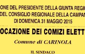 Elezioni Regionali 2015, si vota solo il 31 maggio