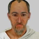 Possibile identikit di Paolo di Tarso, in età avanzata, realizzato da un nucleo della polizia scientifica tedesca nel febbraio 2008