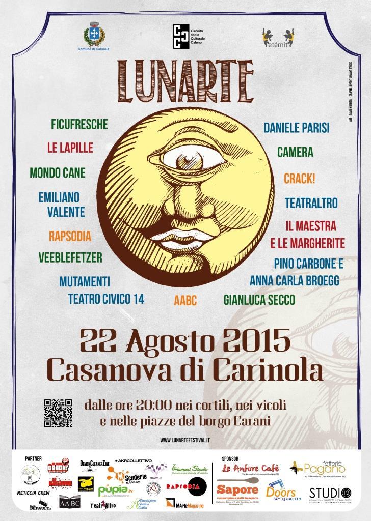 Locandina IX Lunarte 2015
