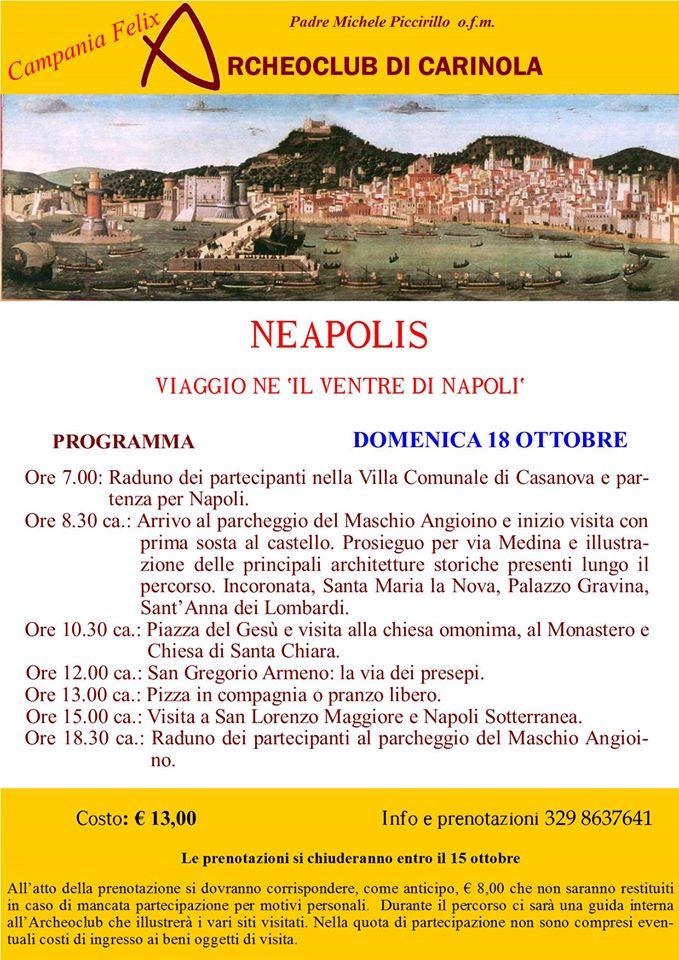 archeoclub locandina neapolis