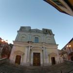 Casale di Carinola: restauro facciata chiesa madre