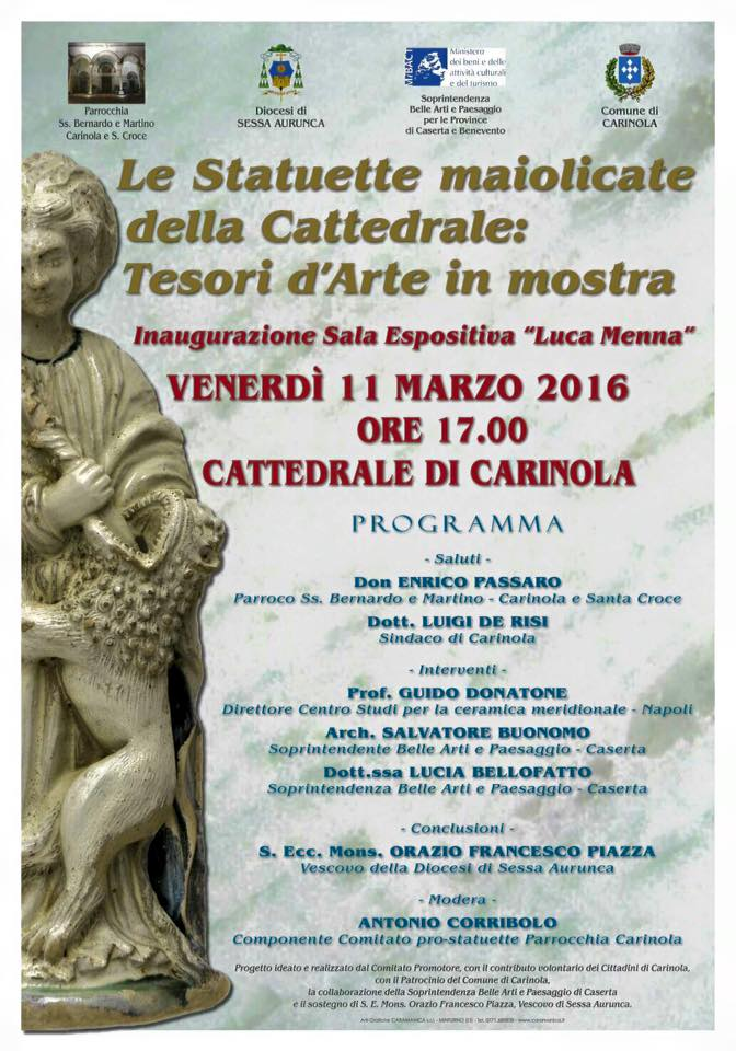 statuette cattedrale carinola