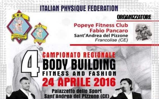 IV edizione Campionato regionale di Body Building