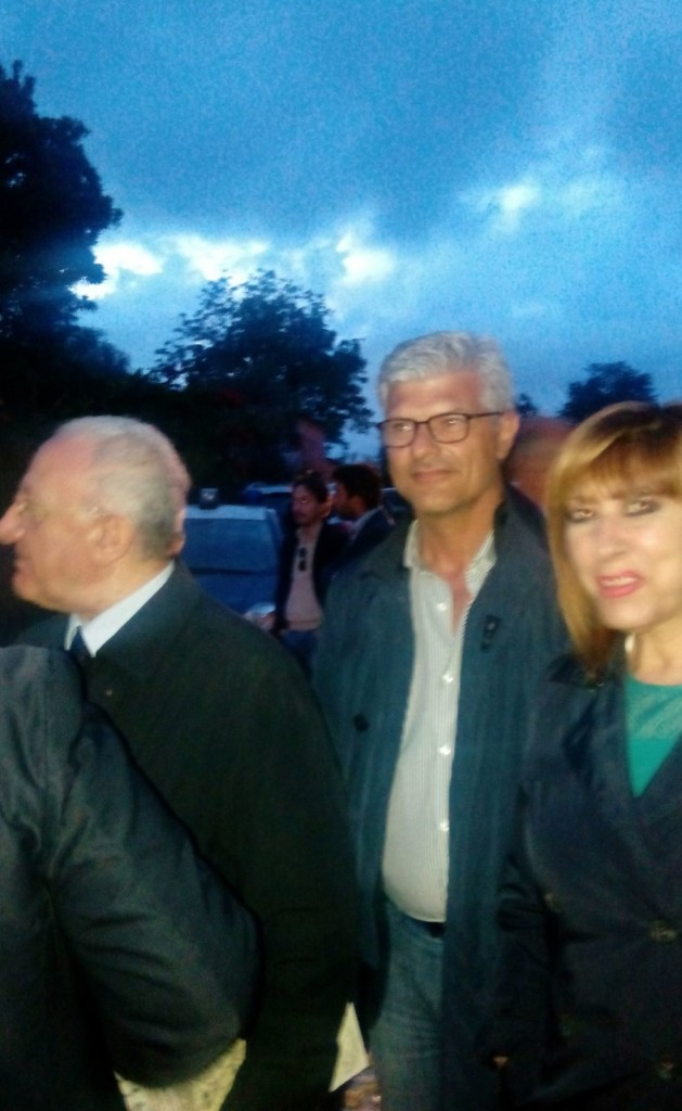 Vincenzo De Luca, Franco Di Biasio e Laura Passaretti