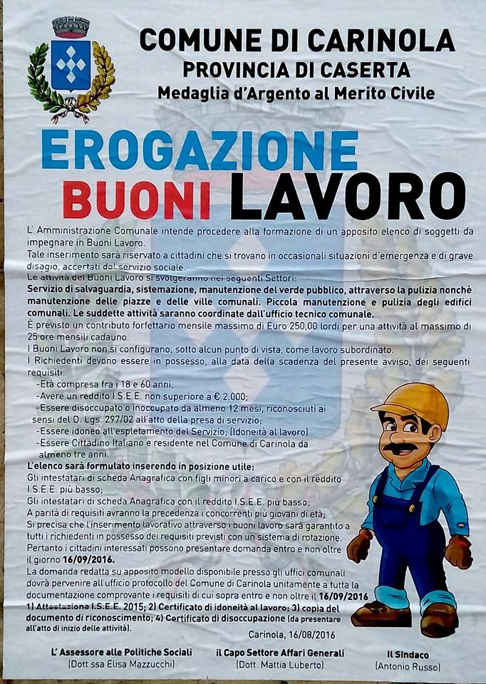 Manifesto Buoni Lavoro