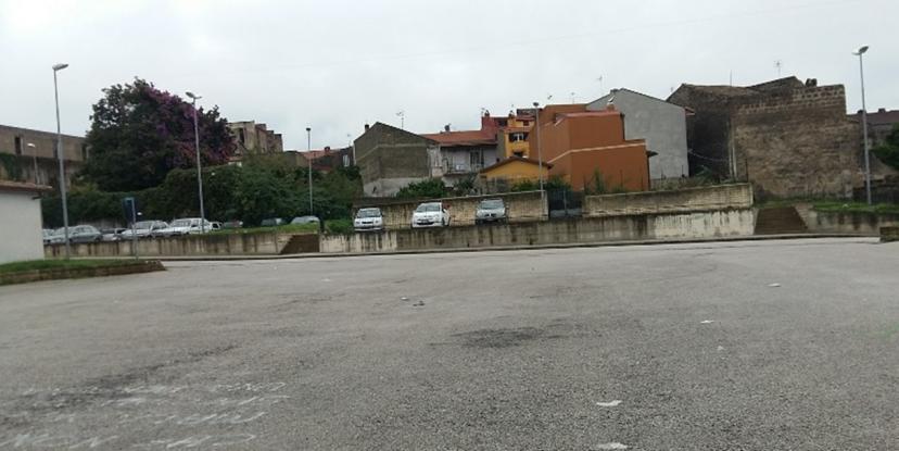 Un'altra immagine dell'attuale piazza Parcheggio