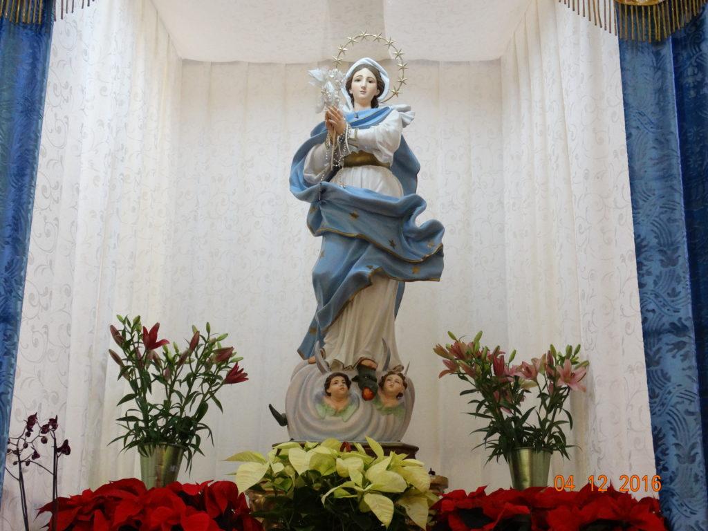 Chiesa dell'Annunziata, Carinola - Interno