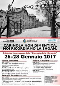 Giornata della Memoria 2017 - Programma