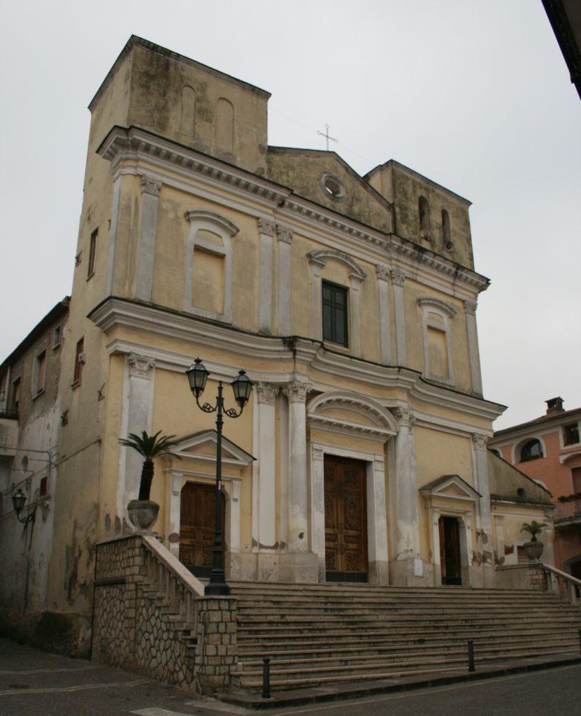 Chiesa madre Parrocchia SS. Giovanni Battista e Paolo Apostolo - Casale di Carinola