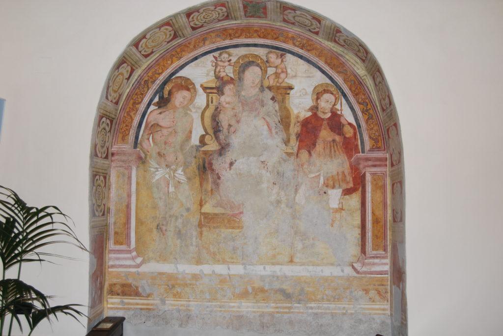 Madonna in trono tra i santi Sebastiano e Rocco