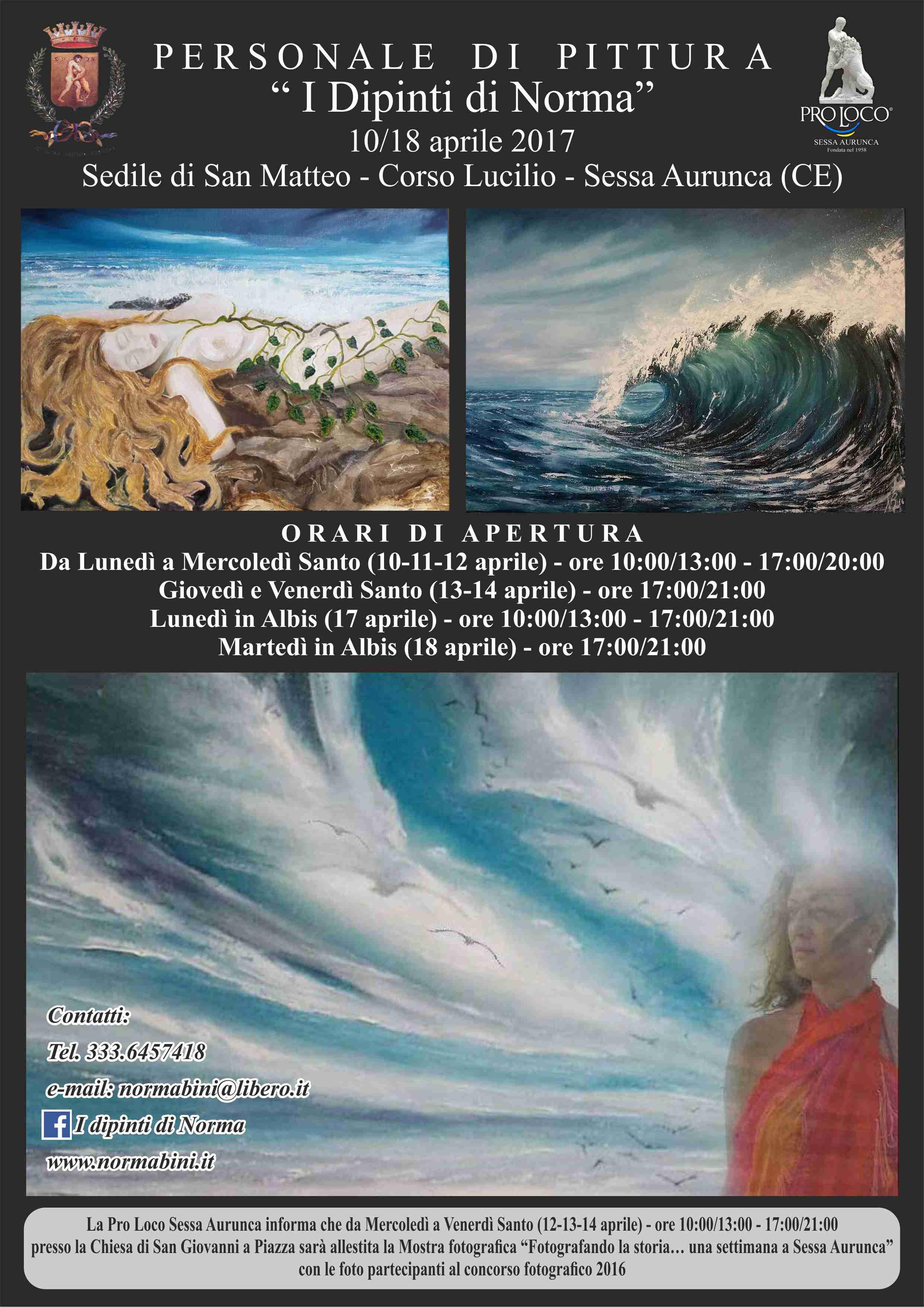 Mostra di pittura - I dipinti di Norma
