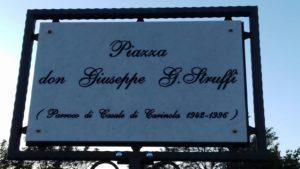 Targa Piazza Struffi