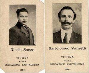 Le foto di Nicola Sacco e Bartolomeo Vanzetti