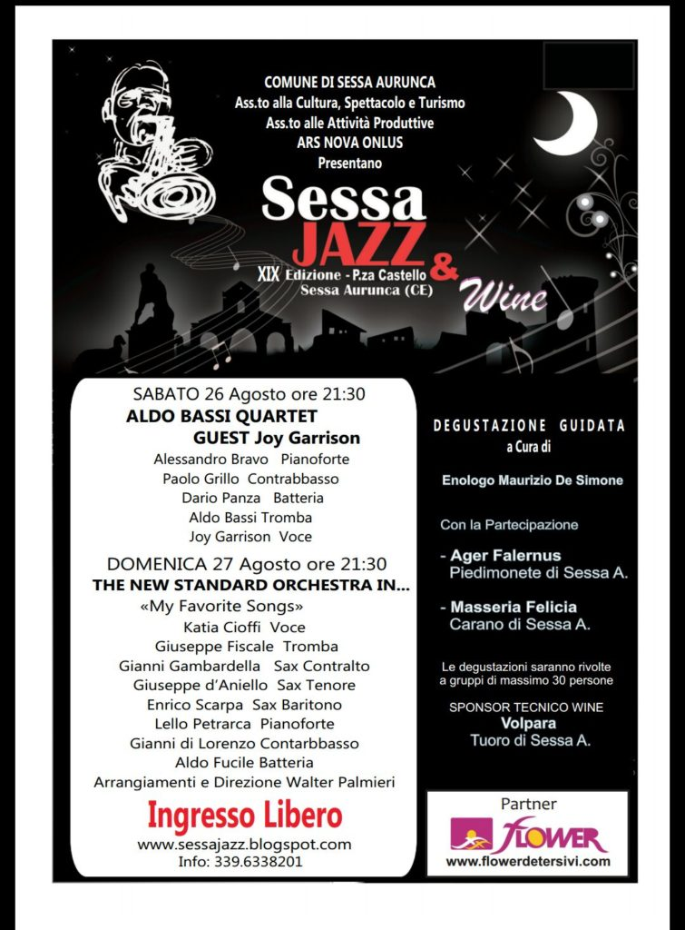 Sessa Jazz 2017 - Locandina