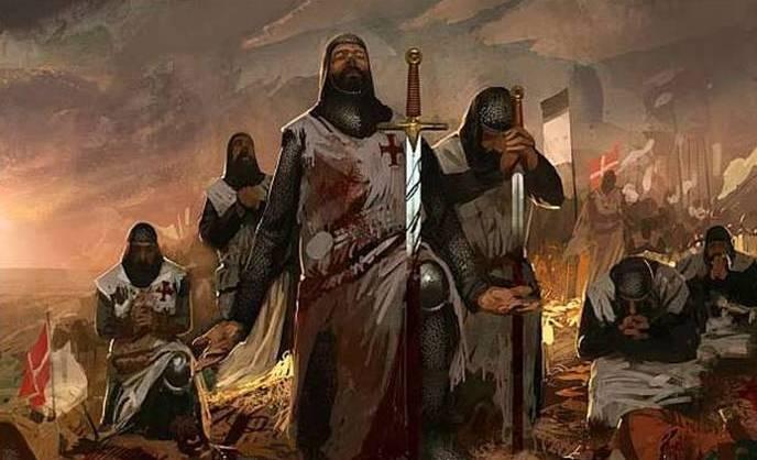 """La storia e la fine dei Templari. La leggenda del """"Venerdì 13"""""""
