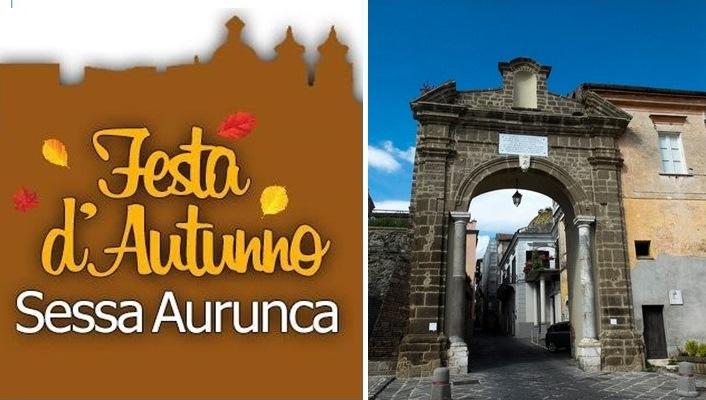 Sabato 18 novembre Festa d'Autunno a Sessa Aurunca