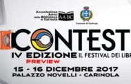 """Carinola Palazzo Novelli, Quarta edizione di """"CONTESTI"""" – Il Festival dei Libri"""