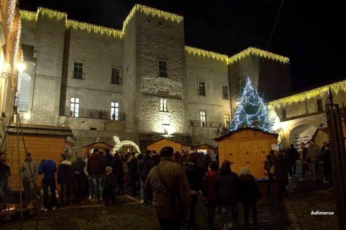 """Sessa Aurunca: per il Sindaco """"Natale al Castello"""" ha rinforzato lo spirito di comunità"""