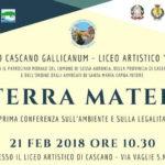 TERRA MATER Conferenza sulla legalità e ambiente
