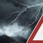 Temporali e vento: ALLERTA METEO della Protezione civile