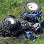 Tragedia a Roccamonfina. Agricoltore muore schiacciato dal proprio trattore.