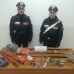 Ladri a Cellole, arrestati a Carinola dai carabinieri di Sessa