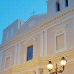 La nuova facciata della chiesa di Casale