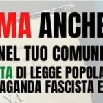 Legge Antifascista Stazzema: raccolta firme a Carinola