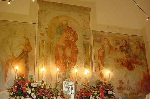 Dipinto cappella San Paolo