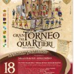 """Gran Torneo dei Quartieri di Sessa Aurunca: 50° Anniversario """"1971-2021"""""""